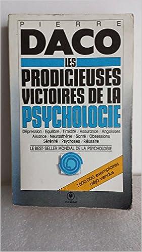 Les Prodigieuses Victoires De La Psychologie Moderne Pdf Télécharger Granovecibisac
