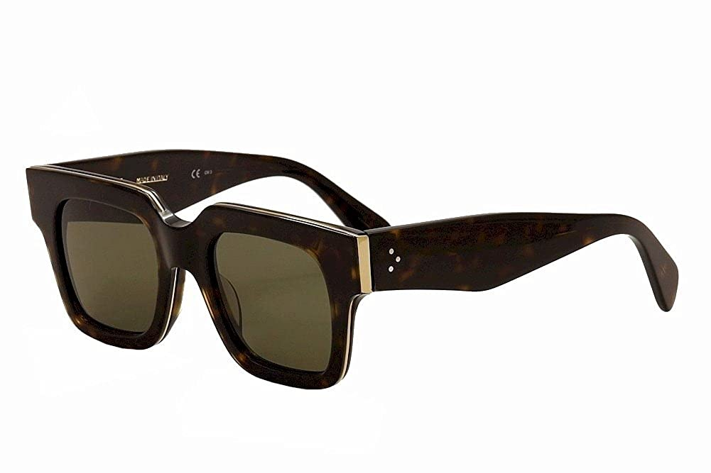 69be7b652b55 Celine Women s 41097S 41097 S Z06 70 Dark Havana Gold Fashion Sunglasses  49mm  Amazon.ca  Clothing   Accessories
