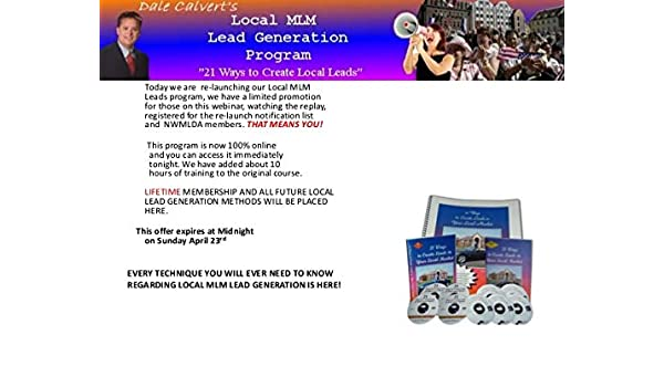 Amazon com: Dale Calvert 3 Hour Live Training 21 Ways to