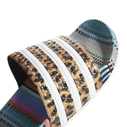 Adidas Performance Womens Adilette Slide Colore Fornitore, Ftwr Bianco, Colore Fornitore