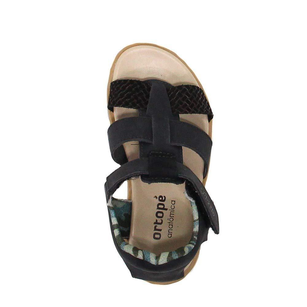 7d38980d3b Sandália Infantil Ortopé Papete Couro  Amazon.com.br  Amazon Moda