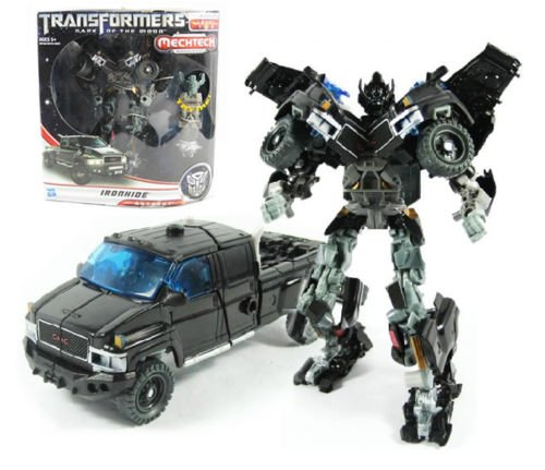 NEW ORIGINAL HASBRO Transformers 3 Voyager Ironhide FIGURE MOVIE MOEDEL TOY GIFT (Best Transformer Costume Video)