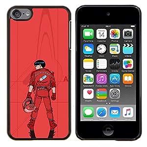 TECHCASE---Cubierta de la caja de protección para la piel dura ** Apple iPod Touch 6 6th Touch6 ** --Kaneua
