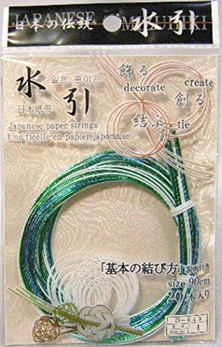 Paper Mizuhiki Cord - Japanese Paper Strings(MIZUHIKI) Metallic 2OPCS