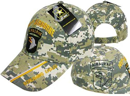 Eagle Airborne - U.S. Army 101st Airborne Screaming Eagles Digi Camo Cap
