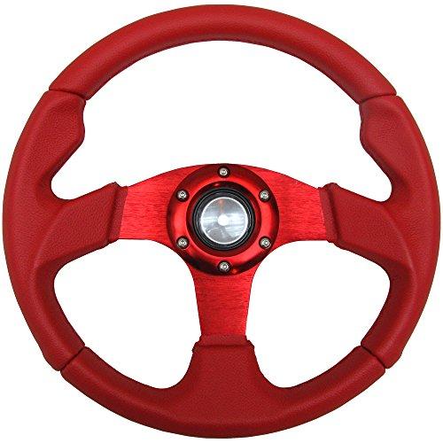 Steering Wheel Type 2 320mm Red (Deep Red Type)