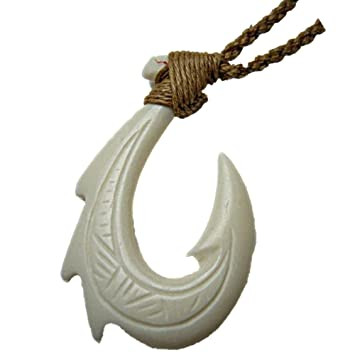 necklace products v maui almost fish pendant copper wegoteverything hook