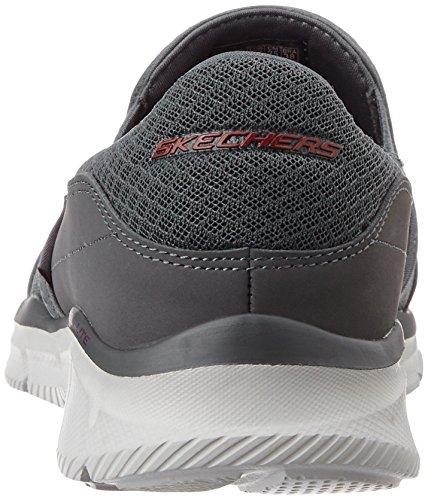 Skechers Equalizer - Persistent, Sneakers da Uomo Grigio (Char)