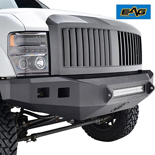 - EAG Replacement Front Hood Grille Full ABS Upper Grill Fit for 08-10 Ford F250/F350/F450 Super Duty