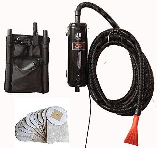 - Bonus-Includes 10 Extra Bags - Metro Vac Vac N Blo Pro Commercial Series - Pro83BA-CS car detailing dryer and vacuum. Includes 30 foot hose