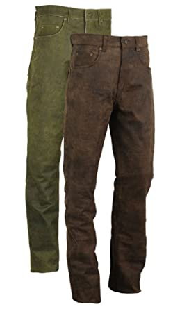 Ebay Motors Designer Lederhose 50 Lederjeans Neu Schwarz W34 Leather Trousers Pants 34 Cuir