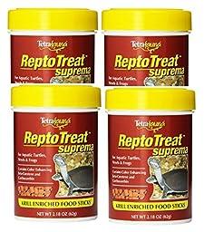 Tetra ReptoTreat Suprema Sticks 2.18 Ounce each (4 Pack)