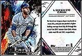 2018 Topps Fire Baseball #90 Lorenzo Cain Milwaukee Brewers