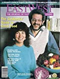 img - for East West Magazine (April 1988 - Cover: Nicki & David Goldbeck, Organic Rice, Indian Medicine) book / textbook / text book
