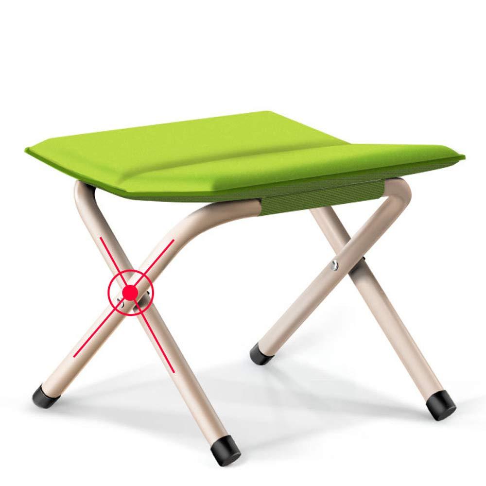 Amazon.com: DRSPSB Taburete plegable para camping, portátil ...