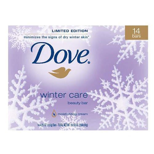 Dove Winter Care Beauty Bars Limited Edition, 14 Count