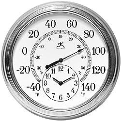Infinity Instruments Prague 16 in. Wall Clock