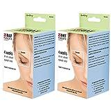Godefroy 28 Day Mascara Eyelash Gel Tint Kit, Brown.4 oz, Two-Pack Set
