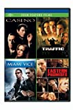 Casino / Traffic / Miami Vice / Eastern Promises Four Feature Films