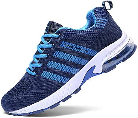 Ahico Men Women Running Shoes Tennis Shoe Air Cushion Lightweight Fashion Walking Shoes Sneakers Breathable Athletic Training Sport 4