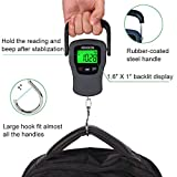 Digital Hanging Luggage Scale with Comfortable