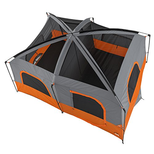 Core 10 Person Straight Wall Cabin Tent 14 X 10