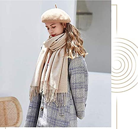 Classic Plain French Style Artist Hat Gift Merino Wool Berets for Women Girls
