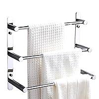 LonfennerTM Moderner Chrome Handtuchhalter mit 304 Edelstahl Spiegel Poliert...