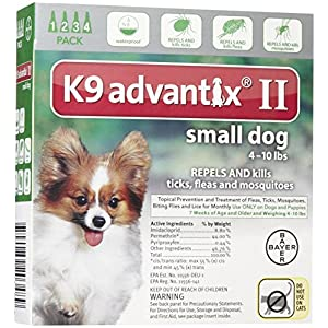 Bayer Animal Health K9 Advantix II Small Dog 4-Pack 11