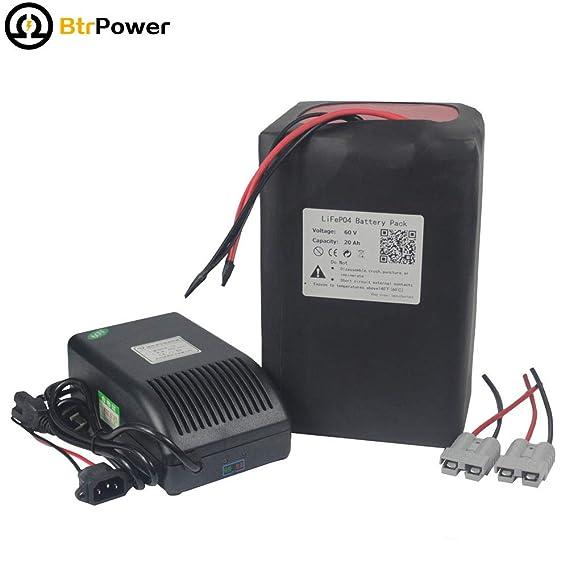 BtrPower LiFe04 - Batería Recargable para Patinete eléctrico ...