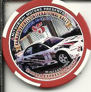 $5 ramada express international rally 2001 laughlin nevada casino chip - Casino Laughlin Nevada
