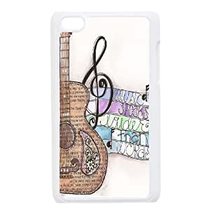 Chaap And High Quality Phone Case FOR IPod Touch 4th -Love Music Pattern-LiShuangD Store Case 6