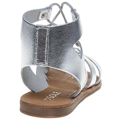 Sandales Sole Metallic Femme Rowan Metallic qCxgfR