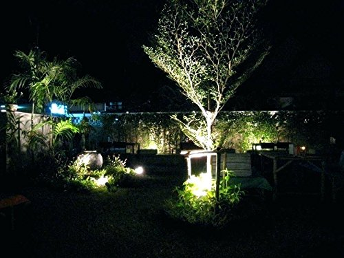 Solar Power LED Flood Night Light 10w Garden Spotlight Waterproof Outdoor Lamp (Energy class A++) (Cold White) by Homdox (Image #6)