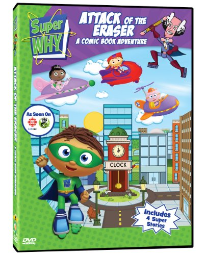 Super Why: Attack of the Eraser - A Comic Book Adventure