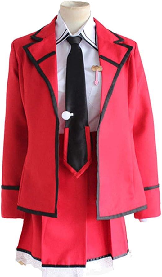 ZY Disfraces De Anime Ropa Japonesa Uniforme Escolar Rojo Tops ...