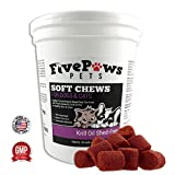 Omega 3 Chews Krill Oil Chews for Dogs – Shed Free Formula Relieves Skin Allergies -Reduces Shedding & Promotes Healthy Skin & Coat Gives Itching Relief -Antioxidant -Fish Oil 60 Soft Chews Review