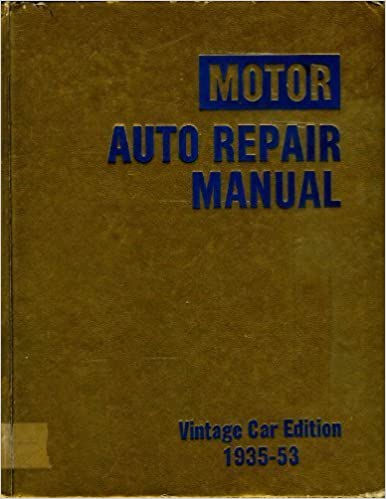 Motor auto repair manual vintage edition 1935 53 harold f motor auto repair manual vintage edition 1935 53 16th edition fandeluxe Images
