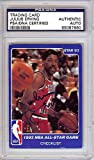 Julius Erving Signed 1983 Star Card - PSA/DNA Authentication - NBA Basketball Trading Cards