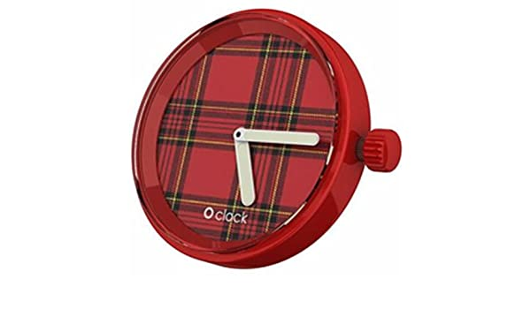 O Clock OCF68-Fullspot - Reloj de pulsera, silicona: Emanuele Magenta: Amazon.es: Relojes