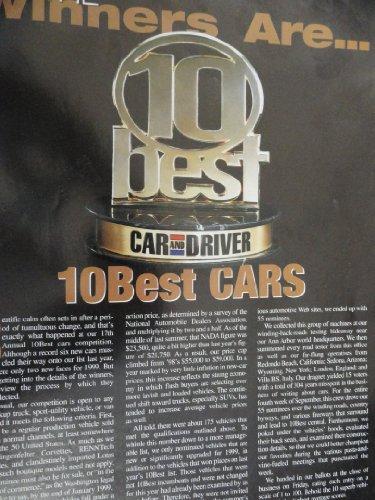 1999 Dodge Intrepid / Chevy Corvette / Honda Accord / Chrysler 300M / BMW 328 i and M3 Sales Brochure