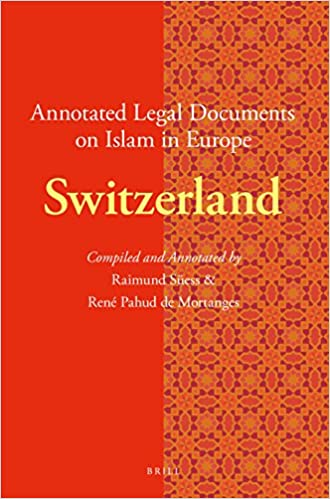 Buy Annotated Legal Documents On Islam In Europe Switzerland Book - Buy legal documents