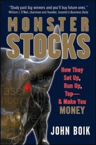 Read Online Monster Stocks: How They Set Up, Run Up, Top and Make You Money PDF