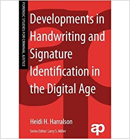 Book Developments in Handwriting and Signature Identification in the Digital Age (Forensic Studies for Criminal Justice)- Common