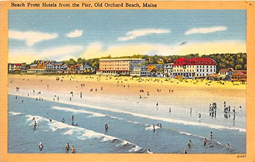 Beach Front Hotels from the Pier Old Orchard Beach Maine ()