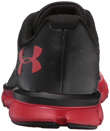 Under Armour Ua Bgs Clutchfit Rebelspeed2, Zapatillas de Entrenamiento para Niños negro/rojo/rojo