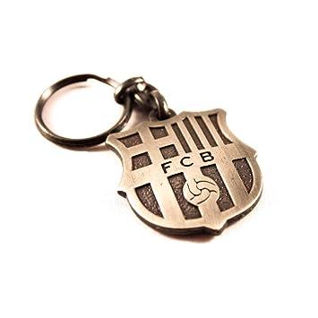 Llavero FC Barcelona cobre vintage: Amazon.es: Juguetes y juegos