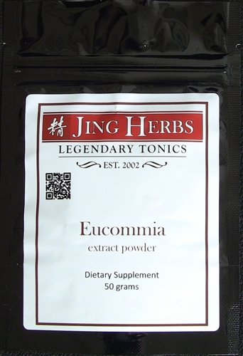 Jing Herbs Eucommia Extract Powder 50 Grams
