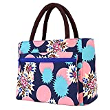 Lunch Bag Large Size Tote Bag Traveling Camping Working Lunch Bag for Women/Men,M