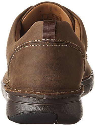 CLARKS Mens Unnature Time Dark Brown discounts online eMYgd